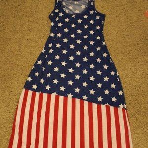 Dresses & Skirts - Flag dress